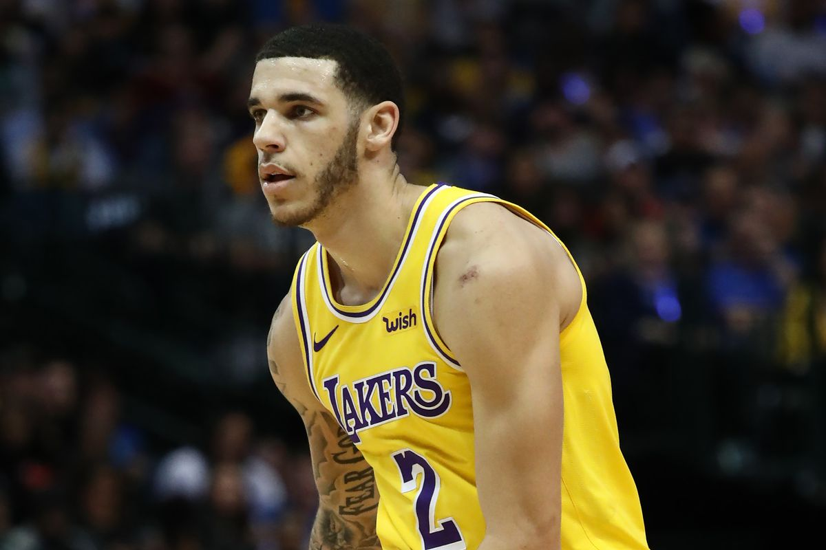 6e5882c8473 Magic Johnson and Rob Pelinka reportedly had to step in to stop Lonzo Ball  from getting 'unauthorized surgery' on his ankle. New ...