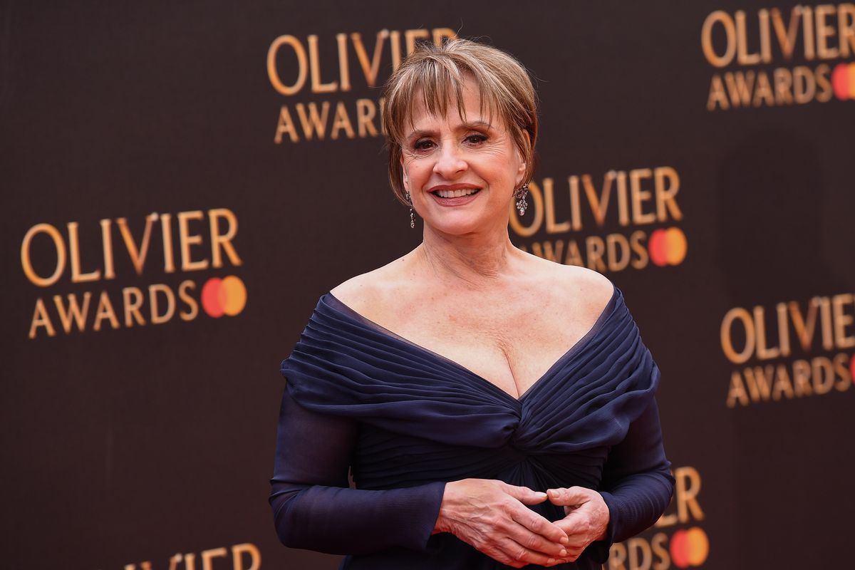 """Patti LuPone attends The Olivier Awards at the Royal Albert Hall in 2019 in London, England. She's among the lineup of the upcoming """"Live from the West Side: Women of Broadway."""""""