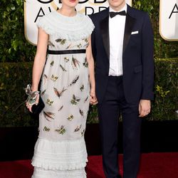 Keira Knightley in Chanel and James Righton.