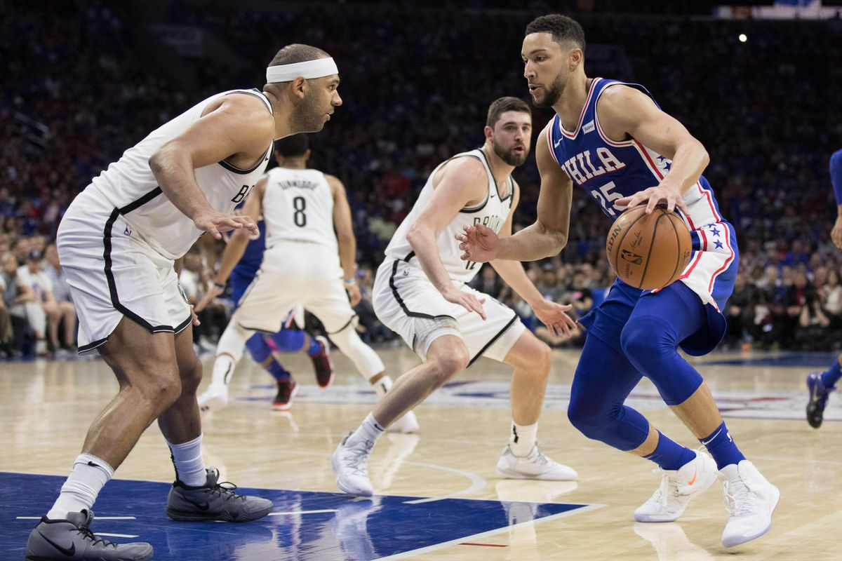 b47595517cbc Nets vs. 76ers  The Ben Simmons vs. Jared Dudley beef