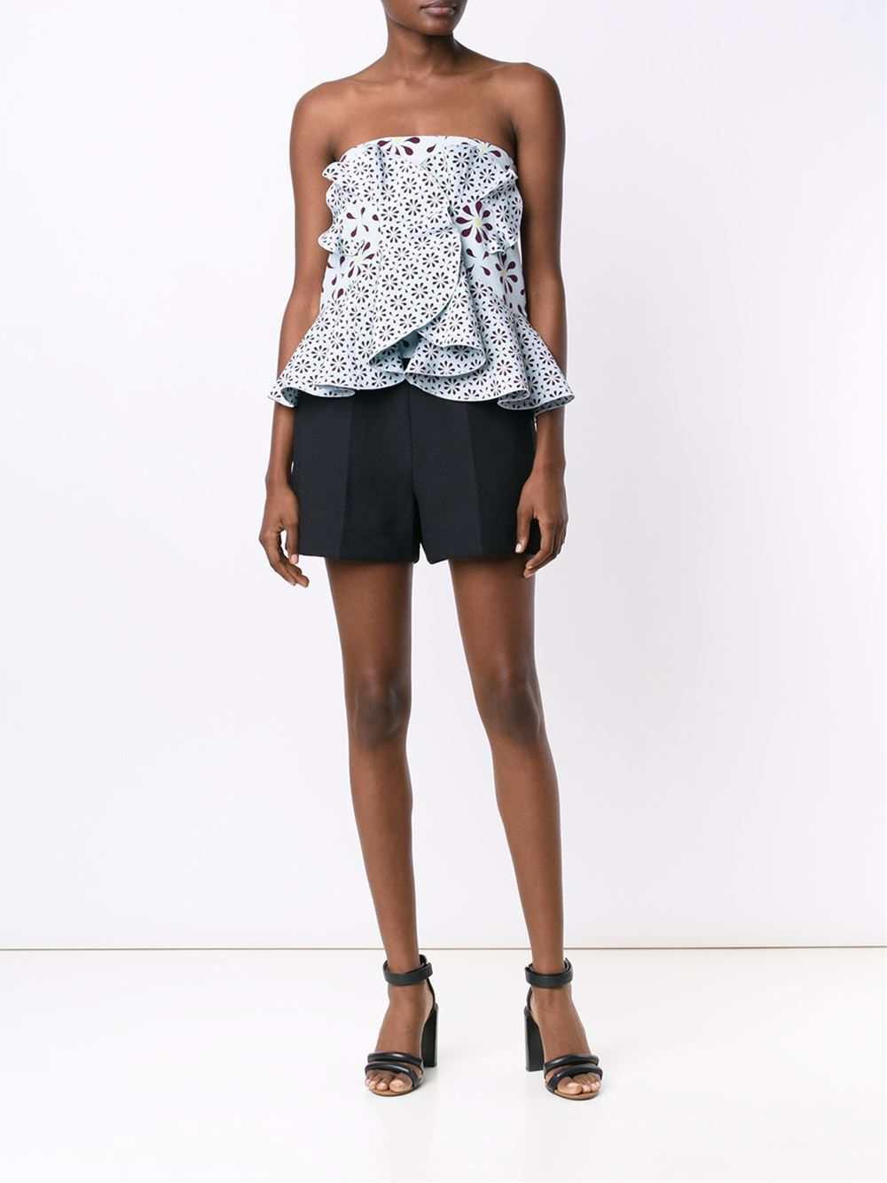 Holly Fulton strapless top