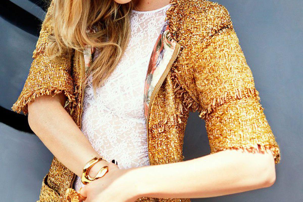 "Scan via <a href=""http://www.fashiongonerogue.com/natalie-dormer-stars-cosmopolitan-talks-shaved-hairstyle/"">Fashion Gone Rogue</a>"
