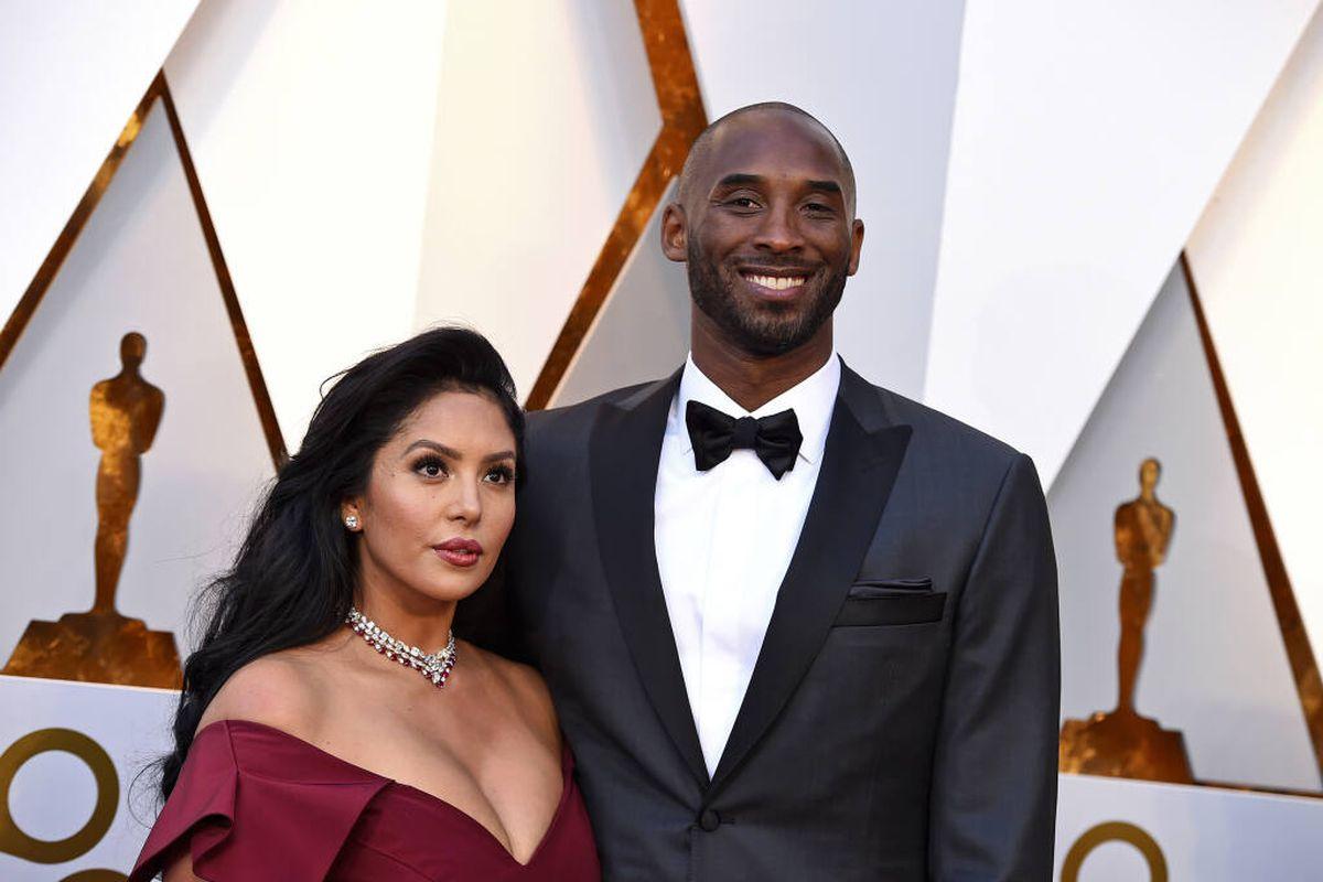 Vanessa and Kobe Bryant