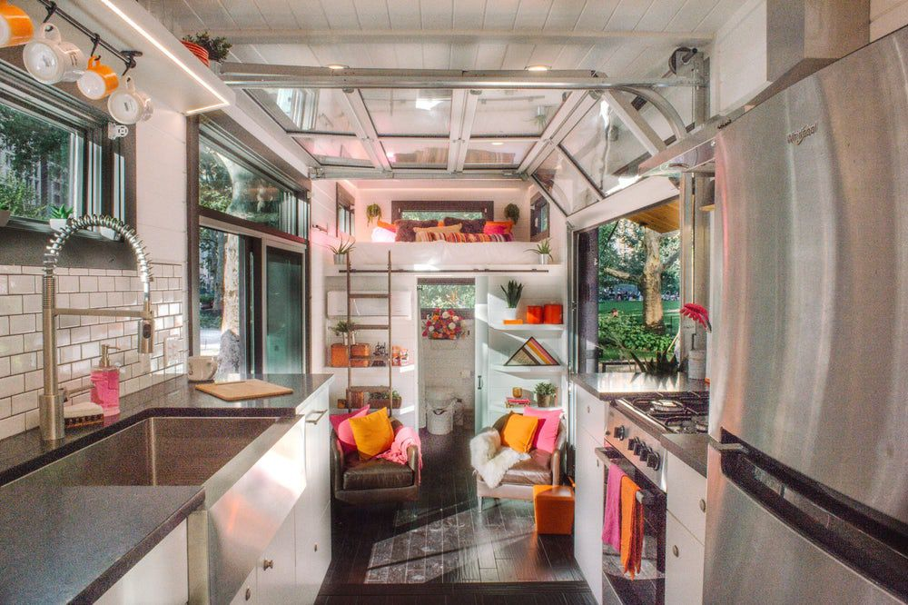dunkin u2019 donuts builds tiny house powered by coffee