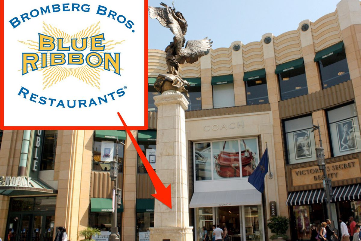 Blue Ribbon Drops First California Location Into The Grove This