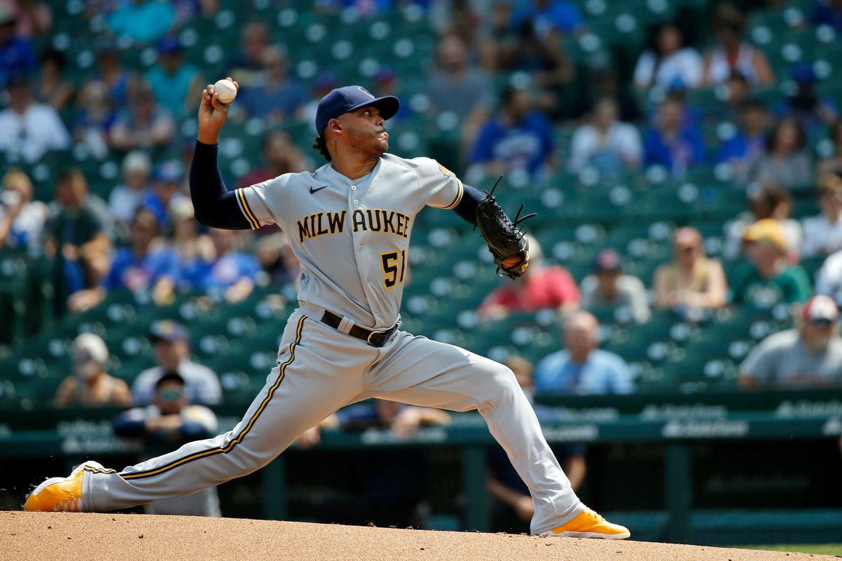MLB: Game One-Milwaukee Brewers at Chicago Cubs