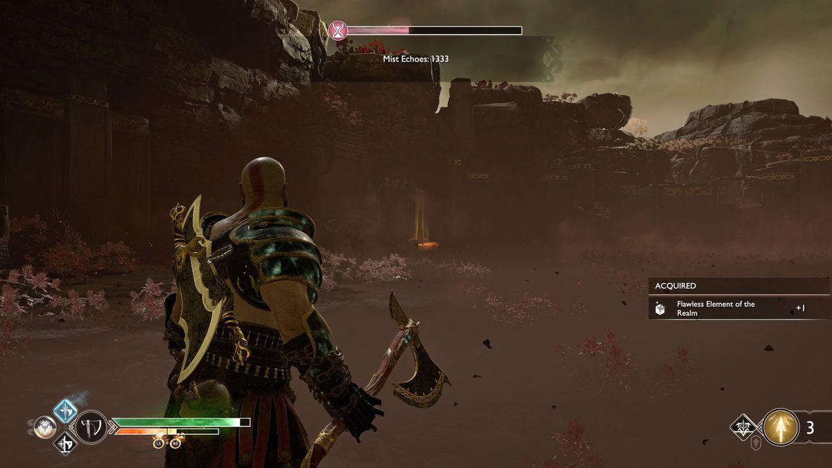 God of War Niflheim Flawless Element of the Realm