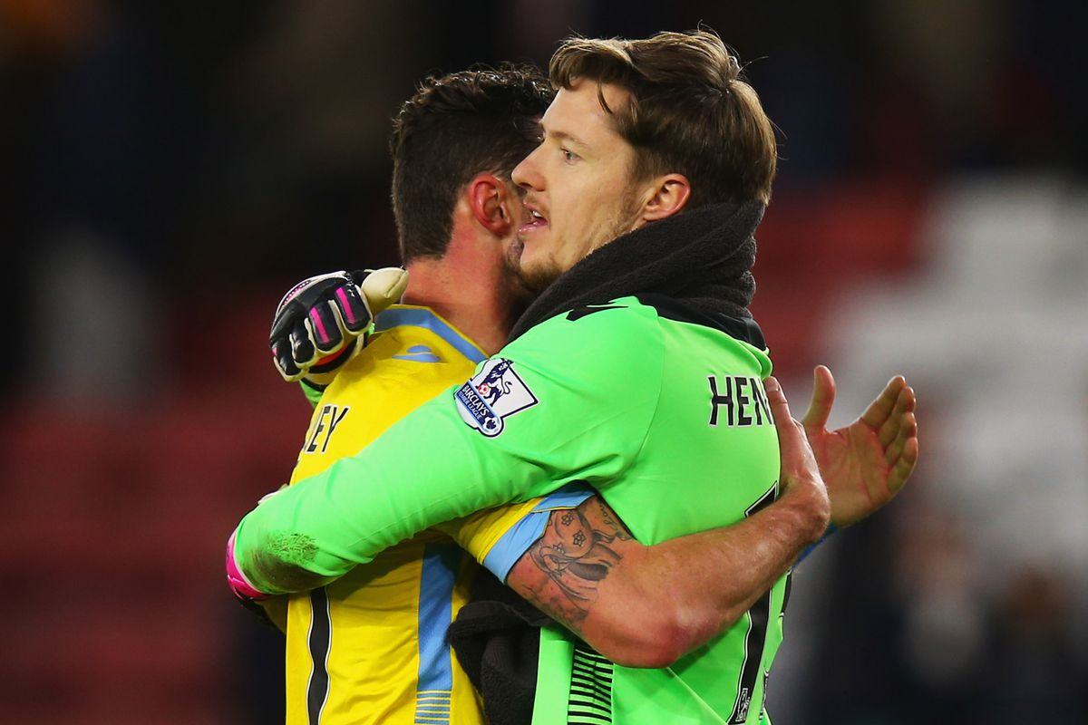 If you grab keeper Wayne Hennessey you may not be able to let go