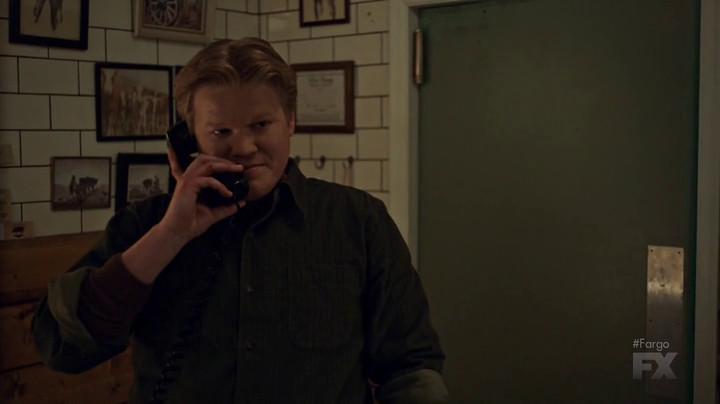 Ed on the phone in Fargo.