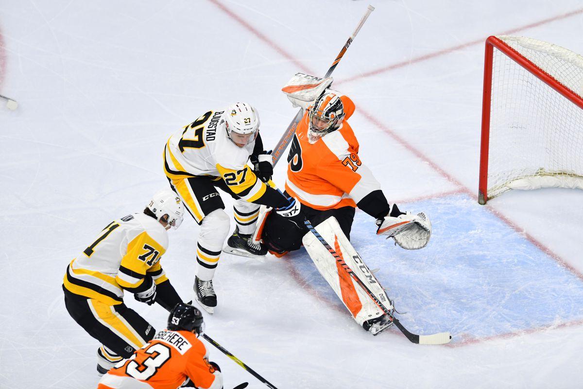 NHL: FEB 11 Penguins at Flyers