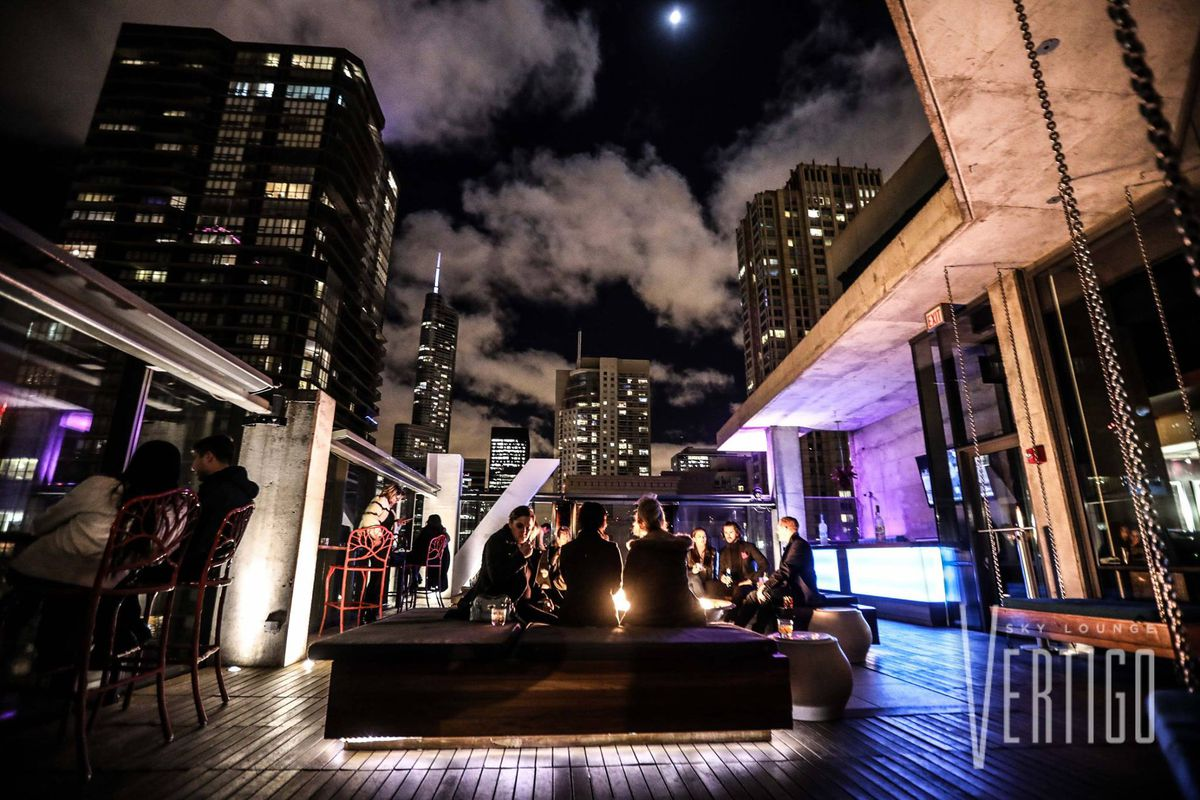 Vertigo Sky Lounge Closes River North Rooftop As Fifty 50