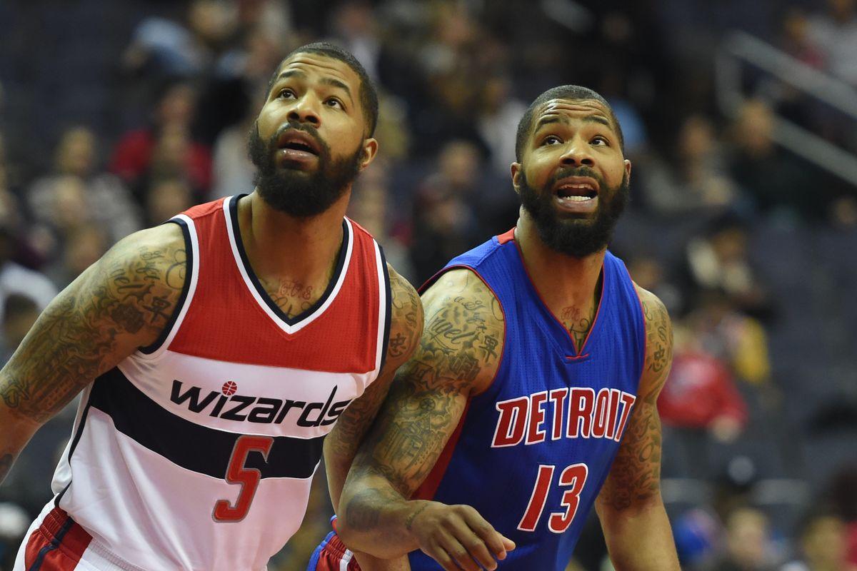 NBA-Detroit Pistons at Washington Wizards