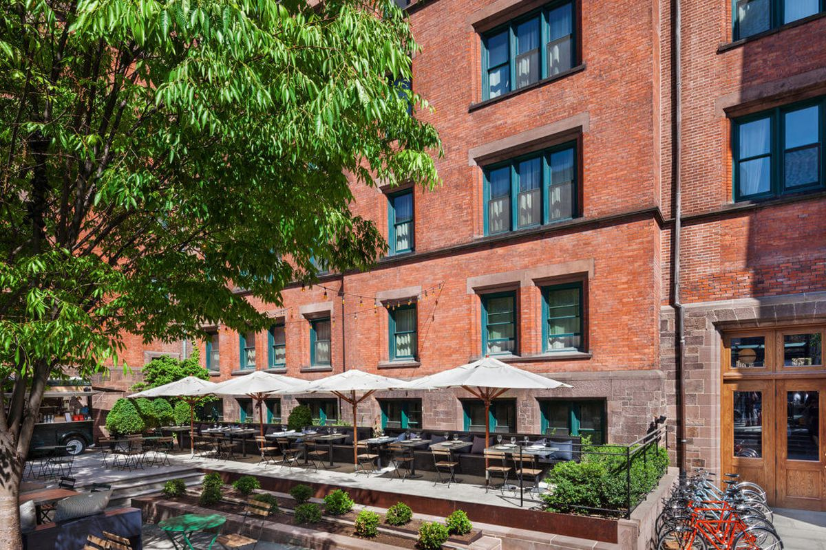 The High Line Hotel Will Swing Open Its Outdoor Restaurant For Season Tomorrow This Time With Smorgasburg Operators Eric Demby And Jonathan Butler