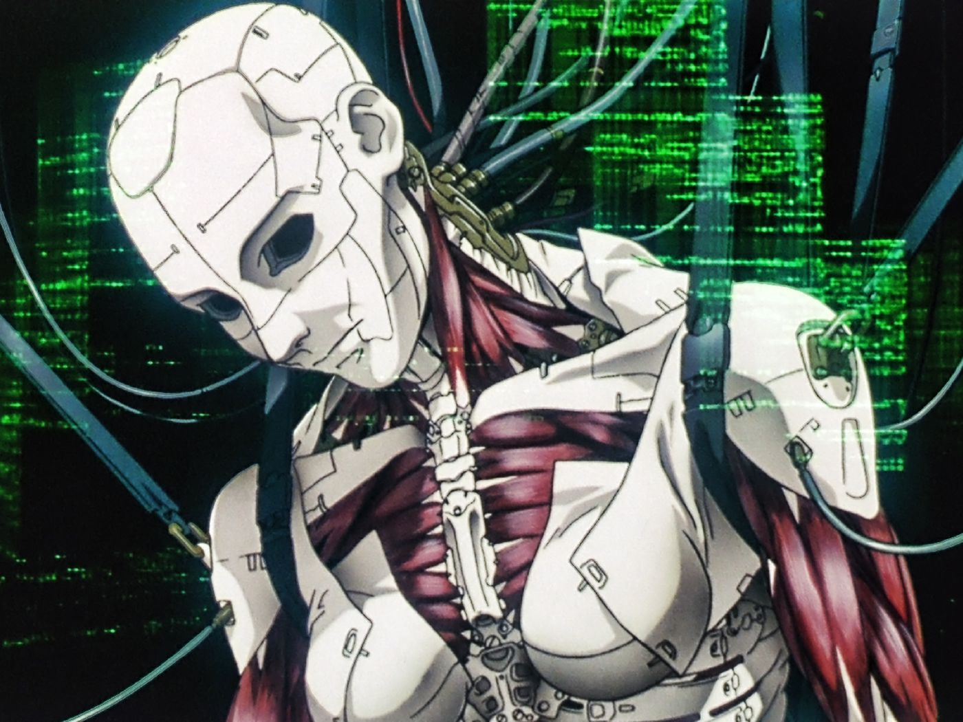 Ghost In The Shell Inside The Anime S Overflow Of Information Style Polygon