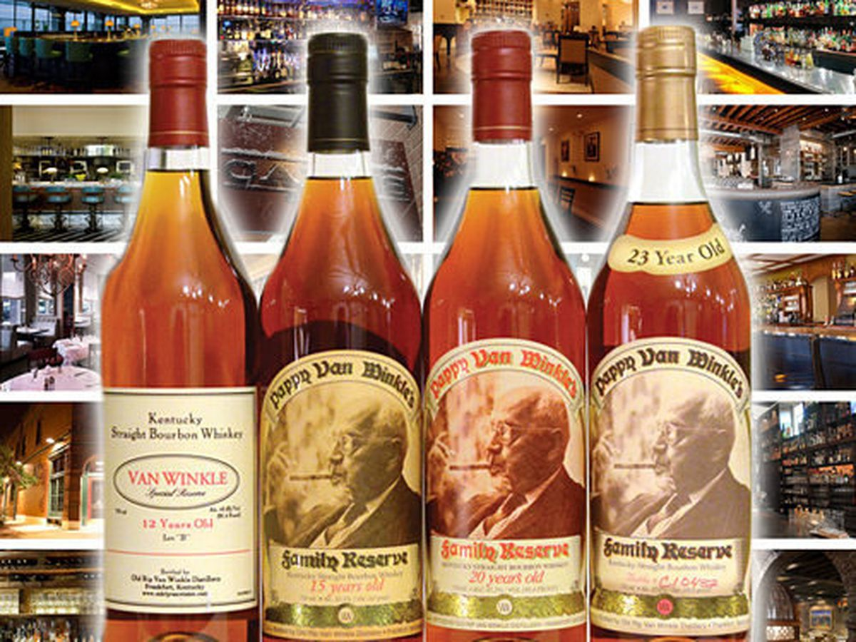 18069c43652 The Pappy Locator  Where to Find Pappy Van Winkle 2013 - Eater
