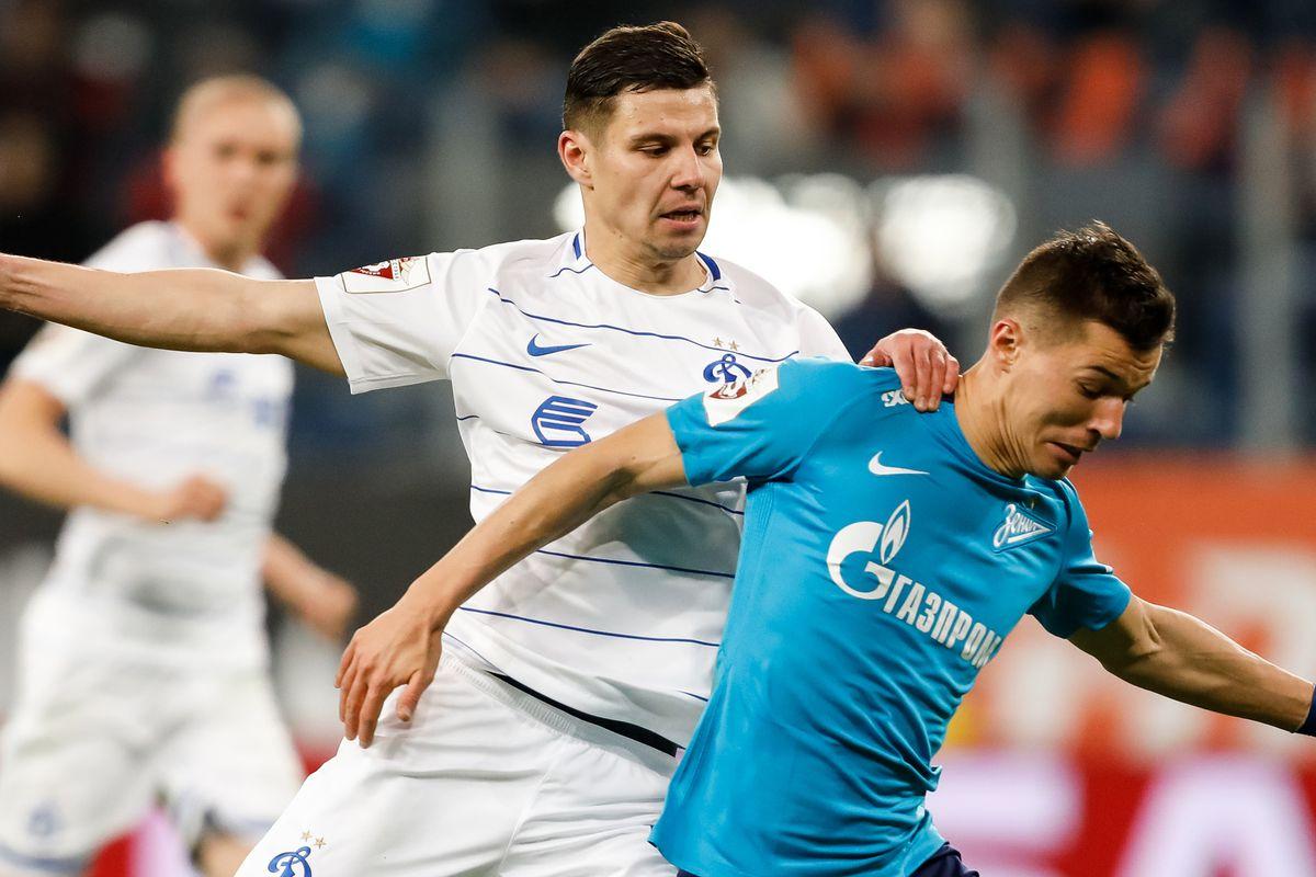 FC Zenit Saint Petersburg vs FC Dinamo Moscow - Russian Premier League