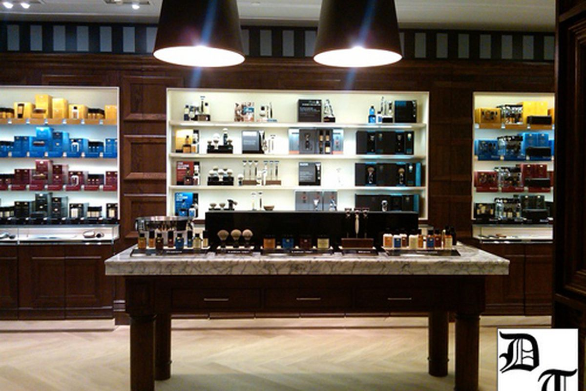 """Photo of The Art of Shaving via <a href=""""http://www.thedailytruffle.com/2011/11/art-of-shaving-beverly-hills/"""">The Daily Truffle</a>"""