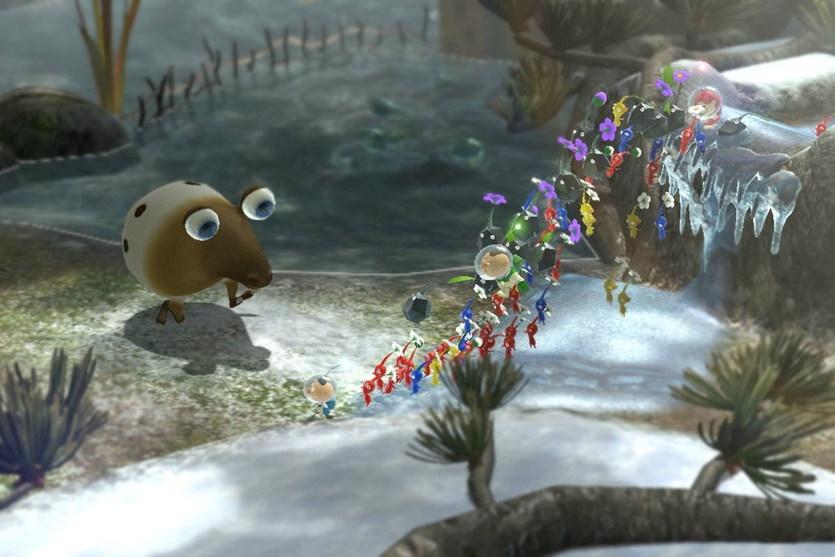Pikmin 3 To Feature Three Control Schemes And Off Tv Play Polygon