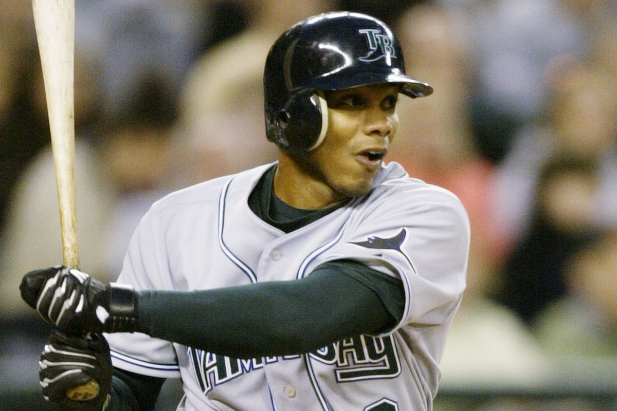 The first player in MLB history suspended for PED's was Alex Sanchez of the 2005 Tampa Bay Devil Rays