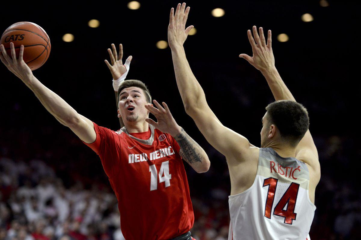 NCAA Basketball: New Mexico at Arizona