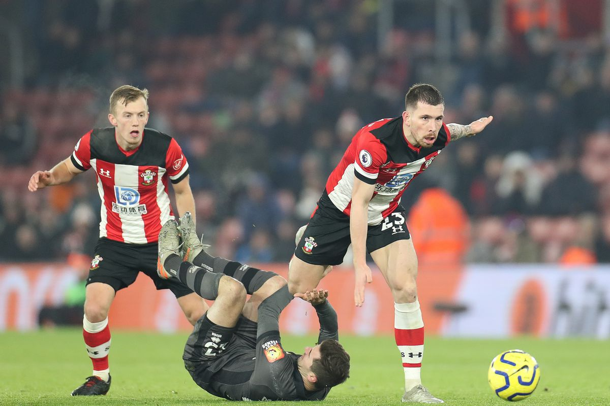 Southampton midfield duo James Ward-Prowse and Pierre-Emil Hojbjerg