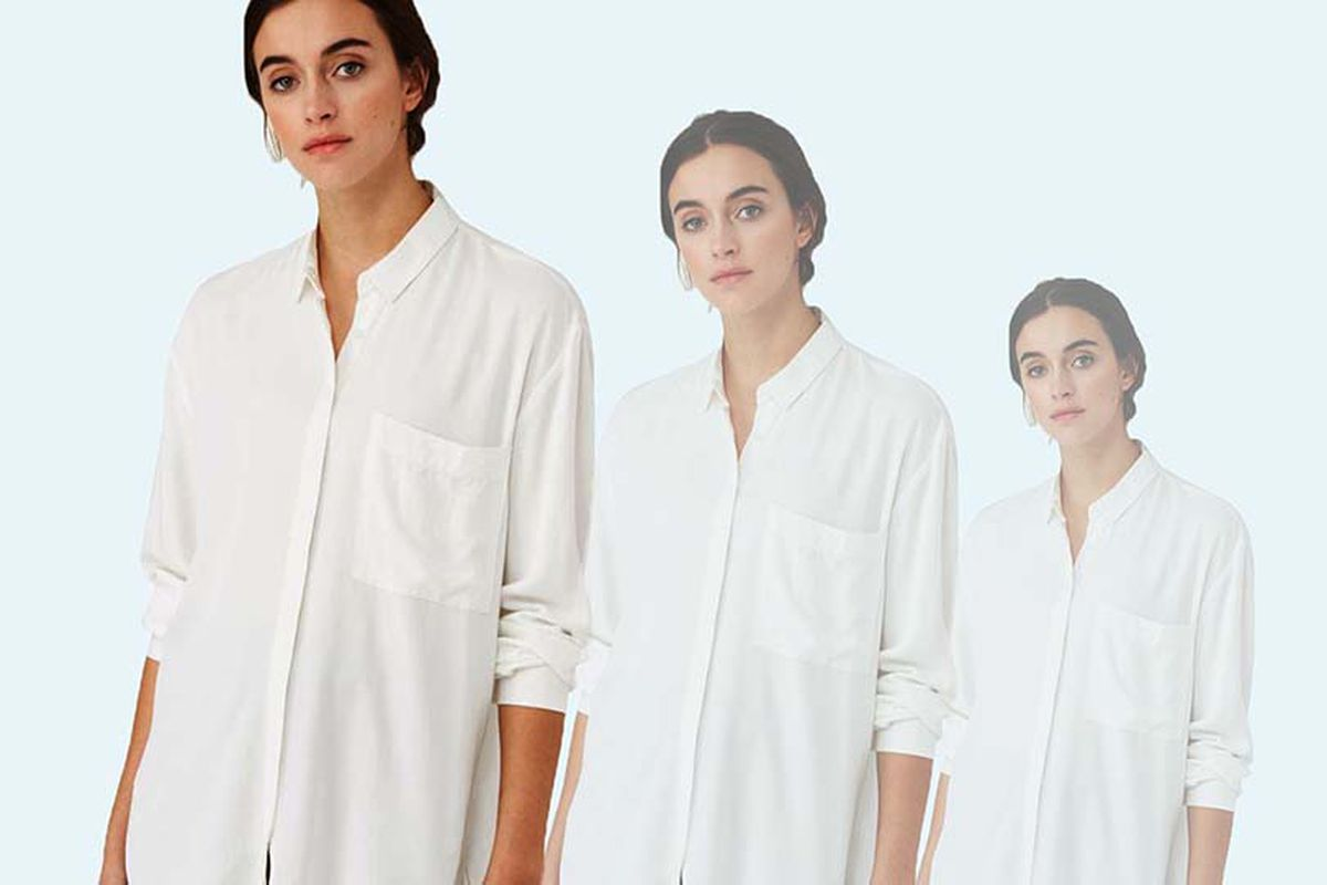b5034f18d7 Get Dressed in 30 Seconds Flat With This White Shirtdress - Racked