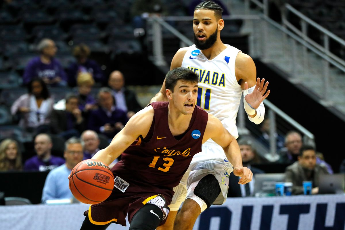 MI  ends Loyola-Chicago's magical run