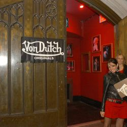 LA wasn't the only city privy to the Von Dutch craze. This photo was taken in 2003 at the official Von Dutch launch party at Show in New York City.