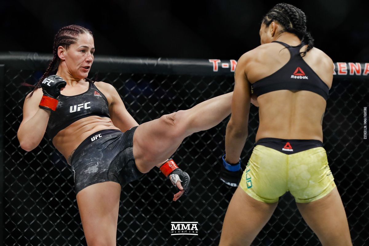 UFC 245 results: Jessica Eye rebounds with unanimous decision over ...