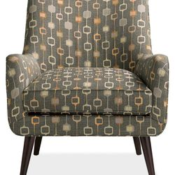 Quinn Chair in Tivo Flannel. Was: $849; Now: $599.99