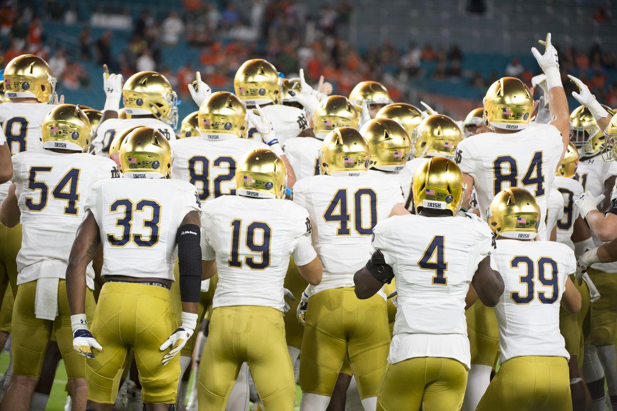 COLLEGE FOOTBALL: NOV 11 Notre Dame at Miami