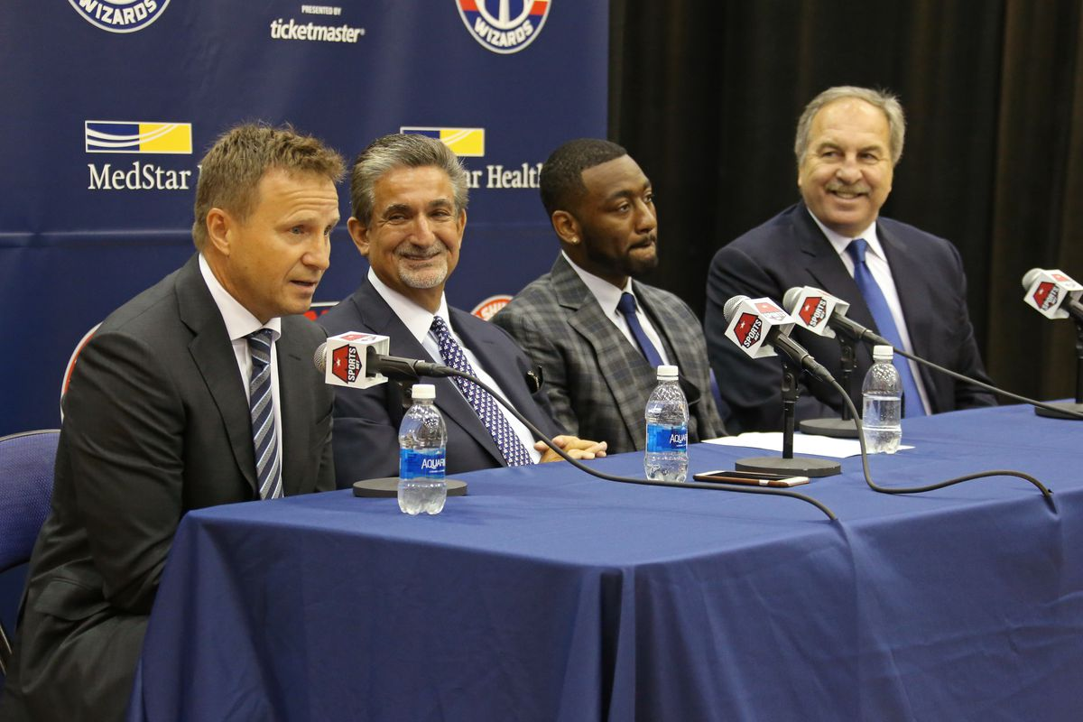 John Wall Resigns with the Washington Wizards Press Conference