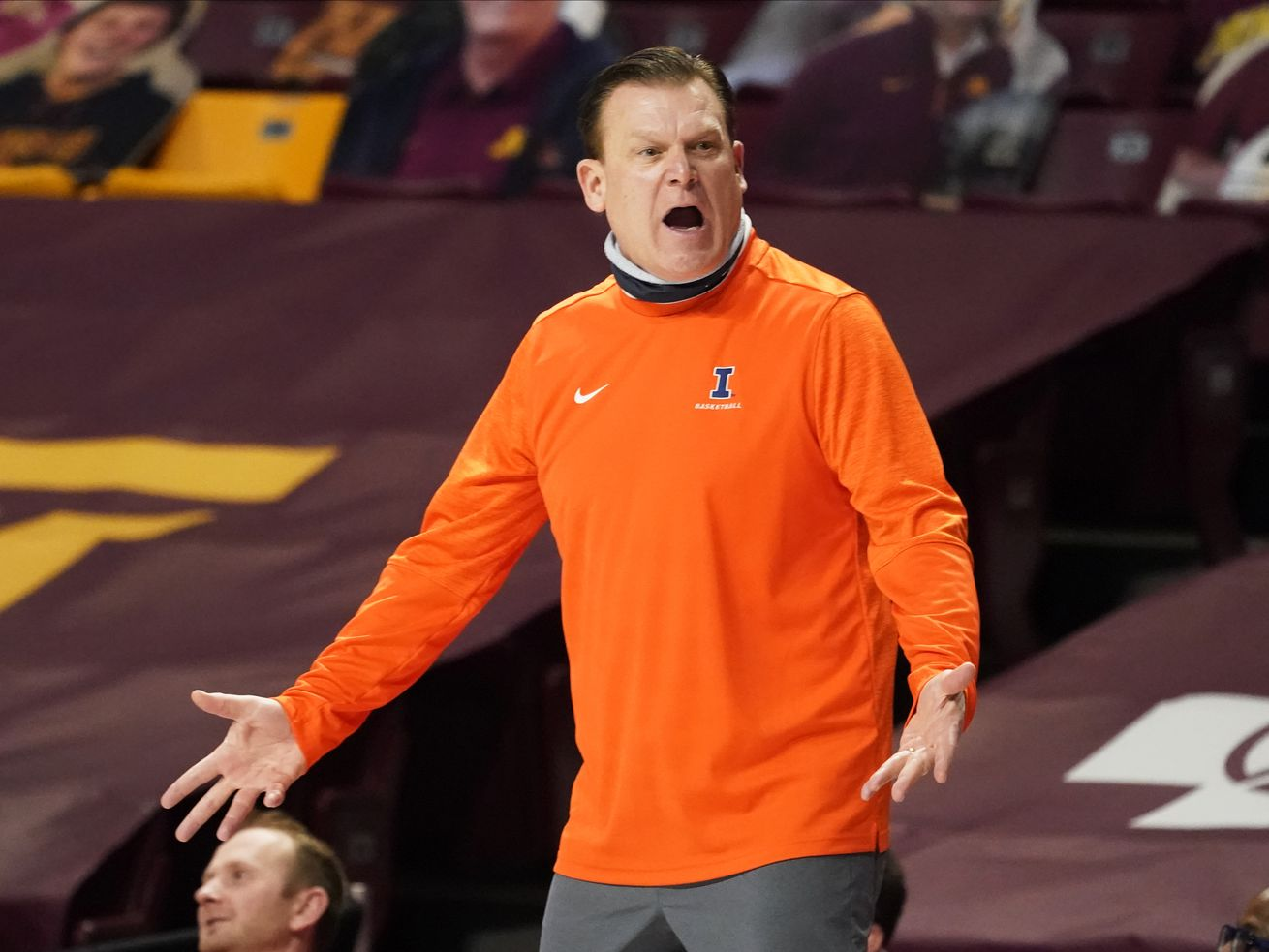 Coach Brad Underwood's Illinois team remains at No. 5 in the AP Top 25.