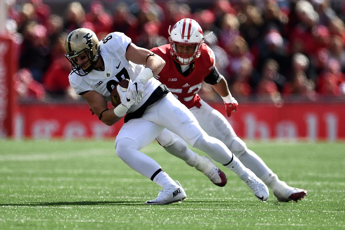 87 days to Purdue Football: Ryan James - Hammer and Rails