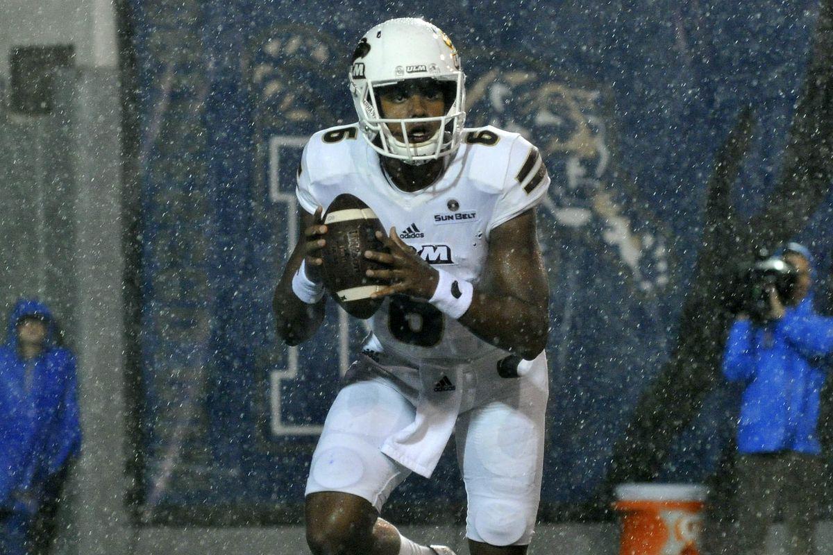 NCAA Football: UL Monroe at Memphis