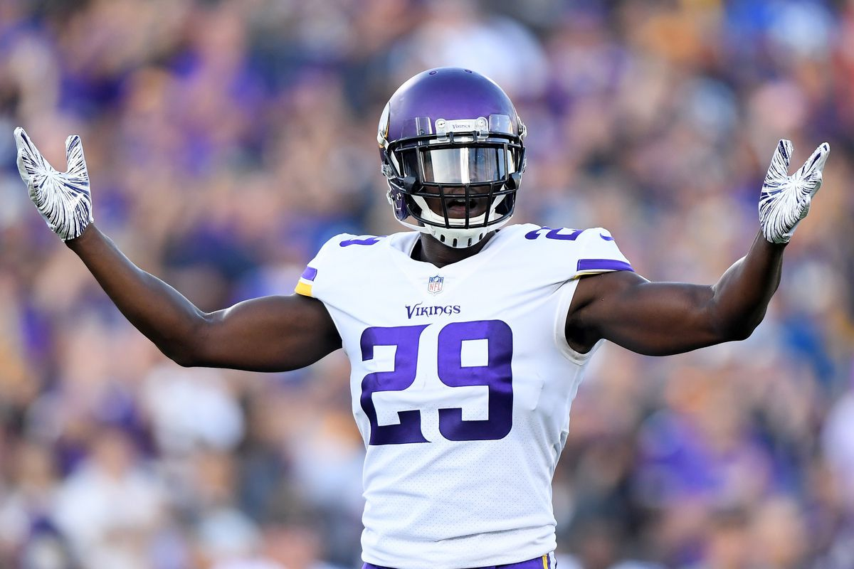 "best loved 2265e bc13b Report: Xavier Rhodes ""tweaked"" ankle in Friday's practice ..."