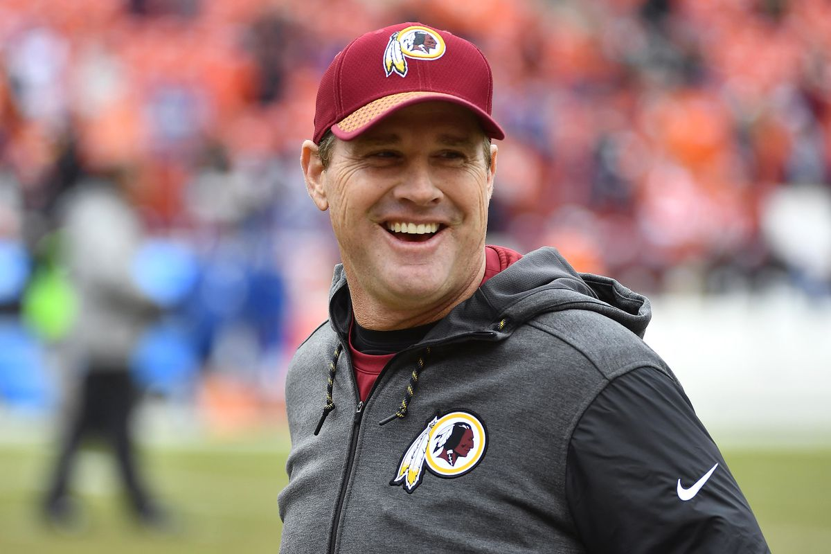 6a6769f6 Jay Gruden Redskins OTAs Presser: Not concerned with Offensive Line ...