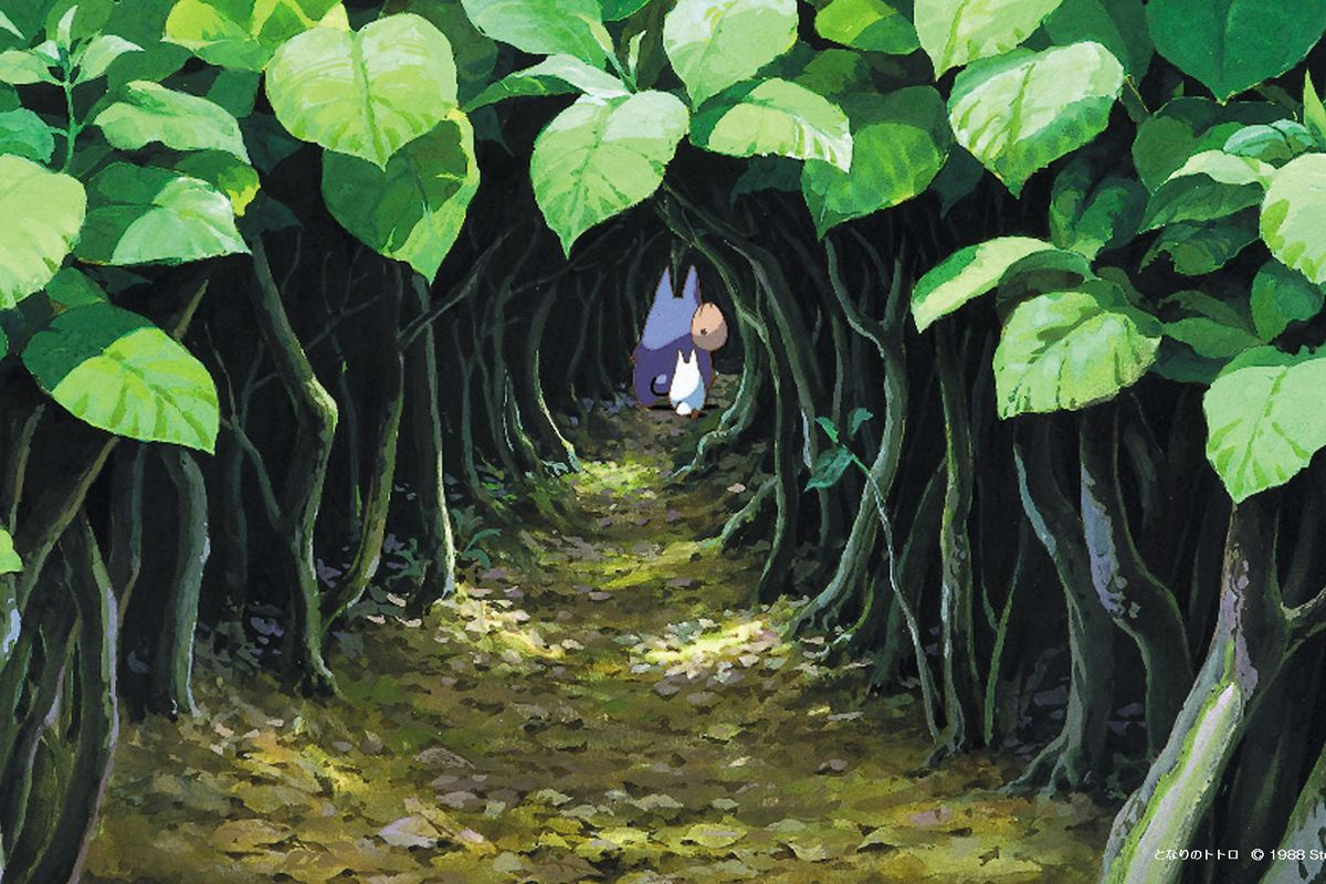 Studio Ghibli Zoom Backgrounds Meetings Turn Work Into Miyazaki Movies Polygon