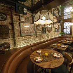 """Warm up—literally—at <b><a href=""""http://www.uncleboons.com/"""">Uncle Boon's</a></b> (7 Spring Street.) One of Eater NY's <a href=""""http://ny.eater.com/archives/2014/01/best_brunch_new_york_city.php"""">best brunch restaurants</a> for winter 2014, th"""