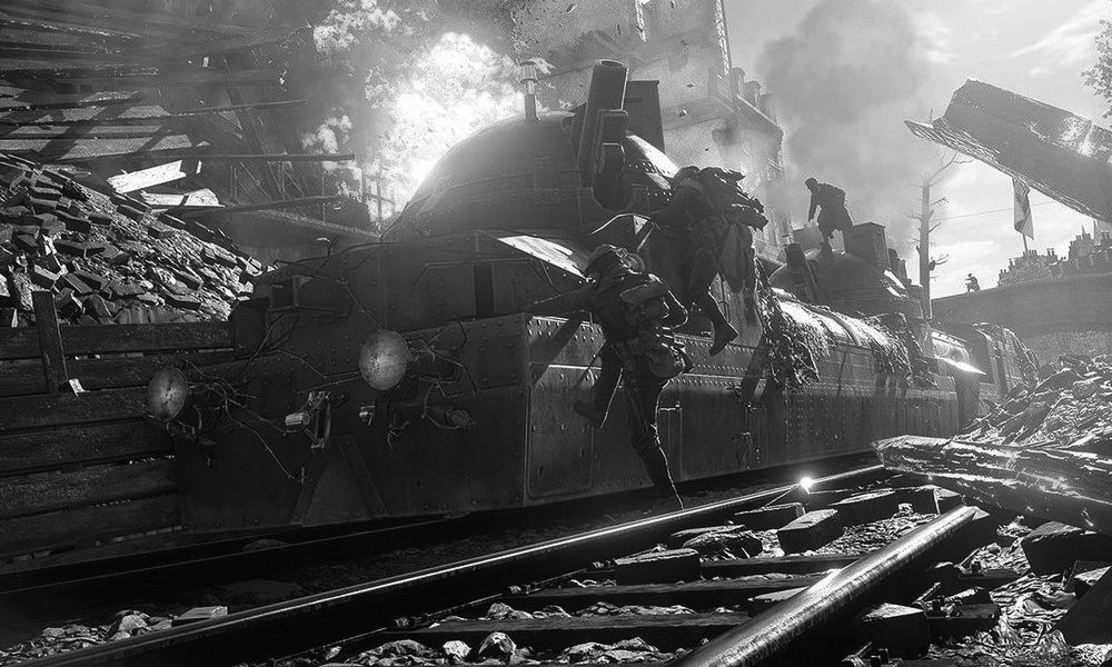 Battlefield 1 Black And White Photos