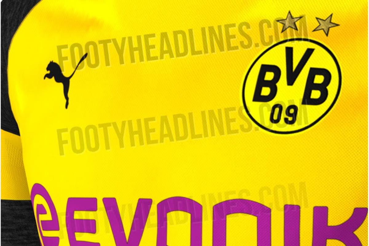 promo code 3909c acb17 These are probably Borussia Dortmund's kits for the 2018 ...
