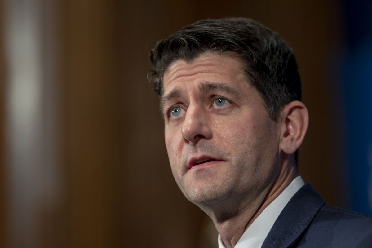 House Speaker Paul Ryan Delivers Remarks On The State Of The U.S.