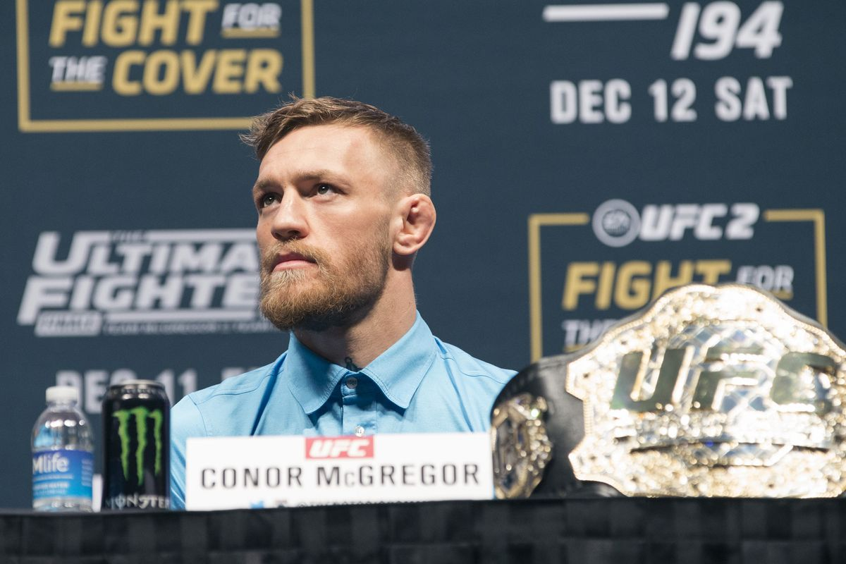 Conor McGregor will answer questions from the media at the UFC 196 press conference.