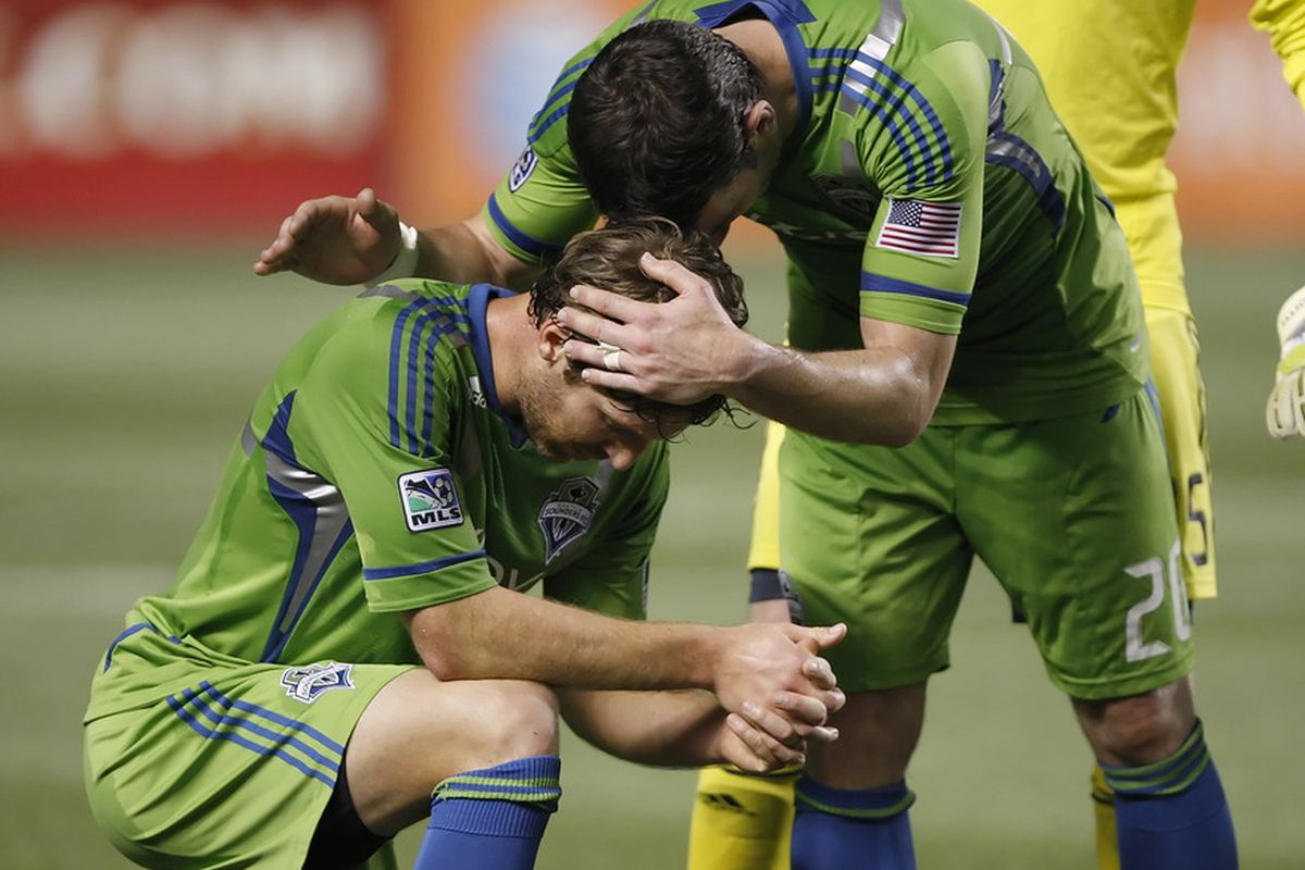 A tie to run their winless streak to nine games did not answer the Sounders' prayers, but it was a step in the right direction.