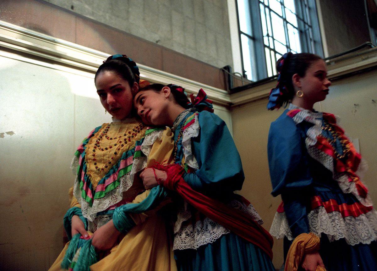 LaRaza dance troupe members in Los Angeles.