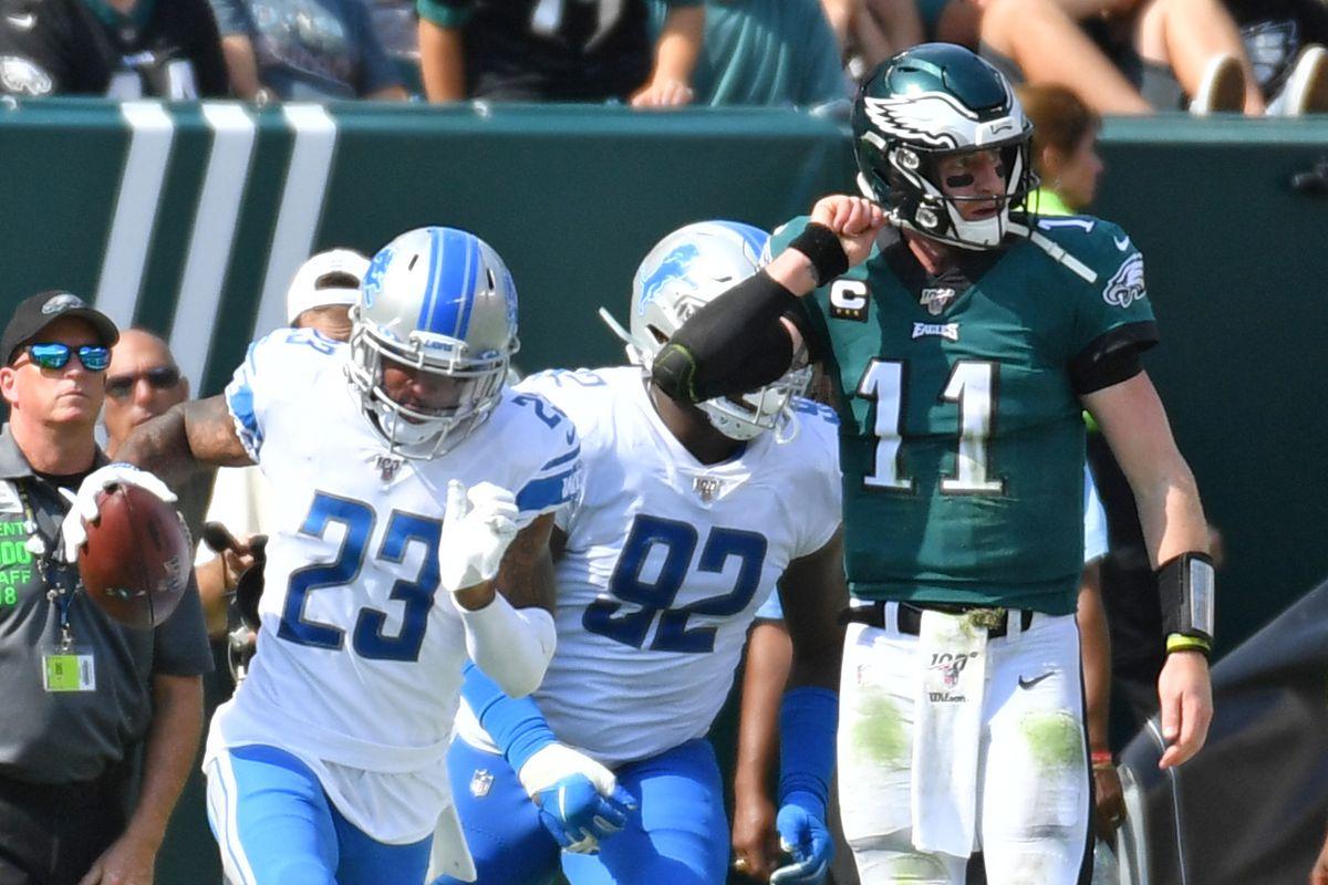 NFL: Detroit Lions at Philadelphia Eagles