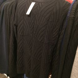 Sweater, size S, $99 (was $325)