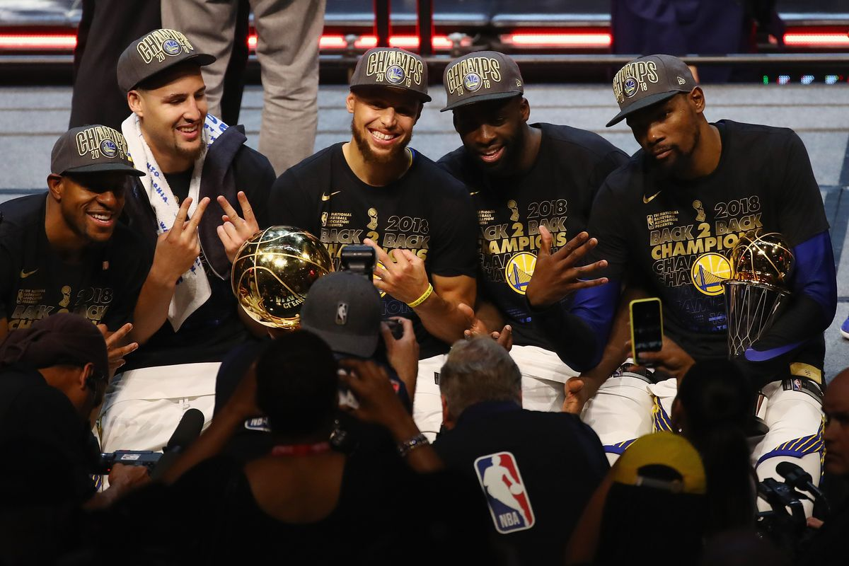 The Warriors  Muted Celebration Was The Perfect End to a Dull Finals ... 1d93bb7e8