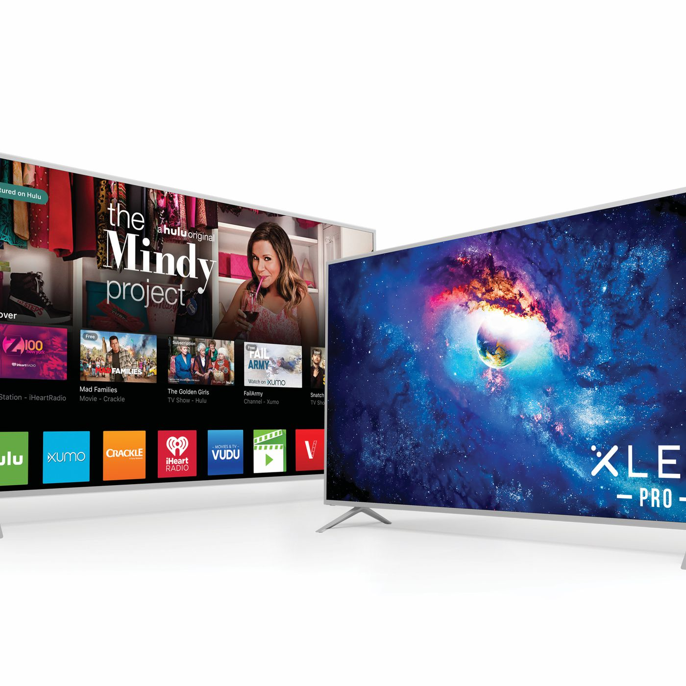 Vizio's new TVs go back to built-in apps and a normal remote
