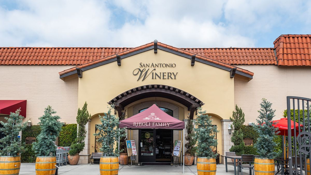 San Antonio Winery in Downtown Los Angeles
